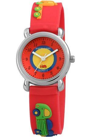 Excellanc Unisex-armbandsur analog kvarts gummi 40702500036