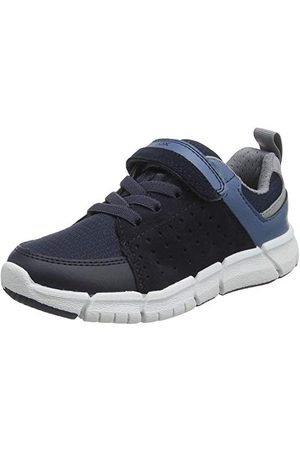Geox Pojkar J Flexyper Pojke D Sneaker, Marin Avio34 EU