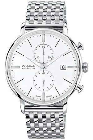 DUGENA Premium kvartsklocka för män Festa 7090168 med metallrem