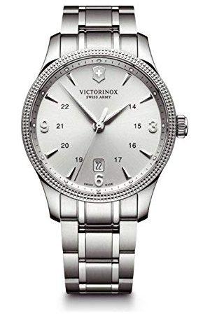 Victorinox Herr analog kvartsur med rostfritt stål armband 241712.1