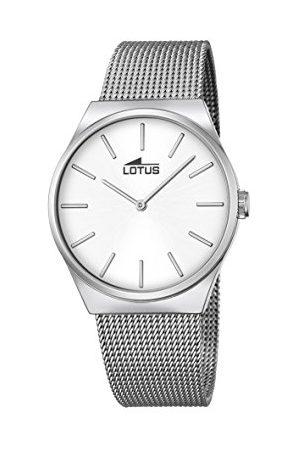 Lotus Unisex analog kvartsklocka med rostfritt stål armband 18285/1