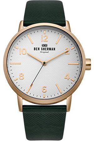 Ben Sherman Herr datum klassisk kvartsklocka med nylonarmband WB070NBR