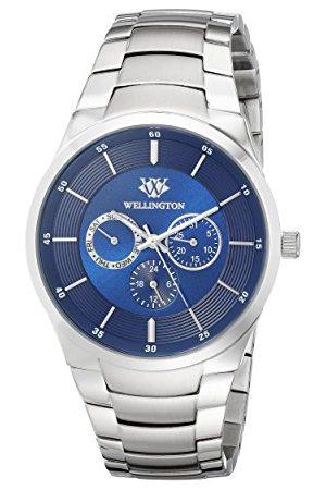 Daniel Wellington Herr kvartsklocka med urtavla analog display och rostfritt stål armband WN601-131