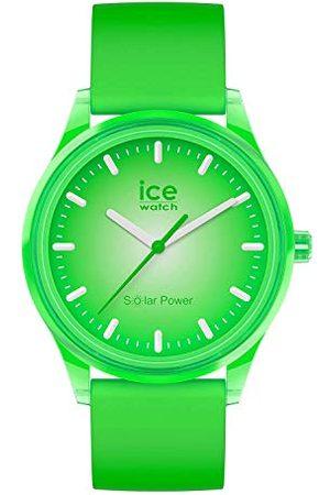 Ice-Watch – ICE solar power Grass – herr/unisexklocka med silikonarmband – 017770 (medium)