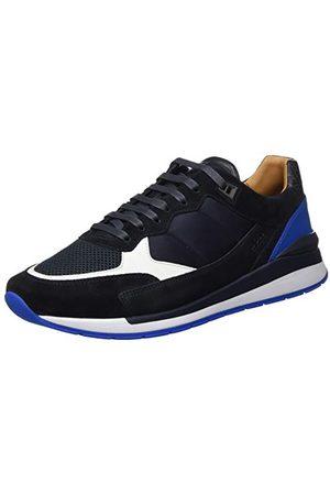HUGO BOSS Herr Element_Runn_ltmx2 sneaker, Open Blue 464-42 EU