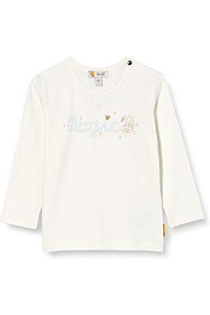 Steiff Baby flicka med söt teddycarrypplikation t-shirt långärmad