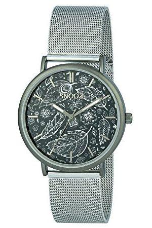 Snooz Herr analog kvartsklocka med rostfritt stål armband Saa1042-75