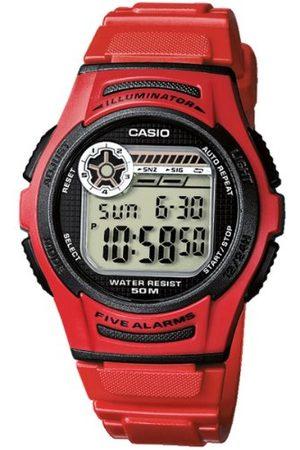 Casio Collection herrarmbandsur W-213 armband En Storlek