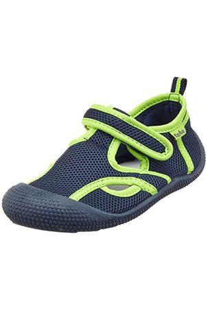 Playshoes Unisex barn UV-skydd sandal aqua skor, marin 787-30/31 EU