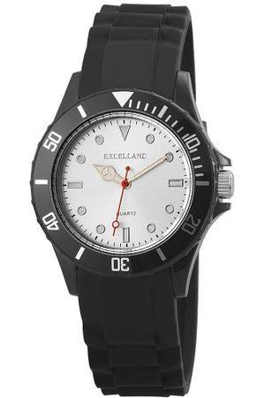Excellanc Unisex analog kvartsklocka med gummi armband 22492250001