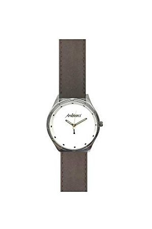 ARABIANS Analog kvartsklocka för män med läderrem HBP2210E