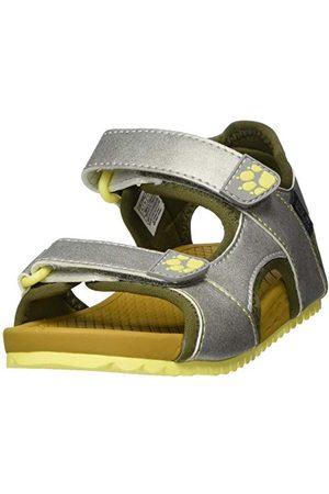 Jack Wolfskin Unisex barn Outfresh Deluxe Sandal K sportsandal, Khaki 6725-31 EU