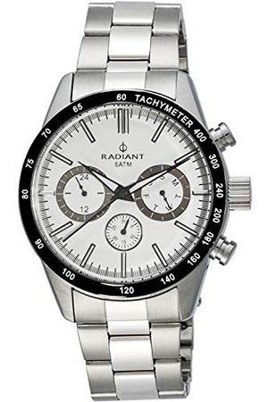 Radiant Man Klockor - Strålande herr analog kvartsklocka med rostfritt stålrem RA411201