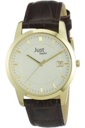 Just Watches Herrarmbandsur XL analog läder 48-S11240-Gd