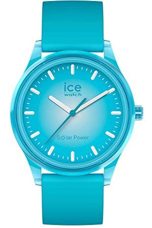 Ice-Watch – ICE solar power Blue planet – herr/unisexklocka med silikonarmband – 017769 (medium)