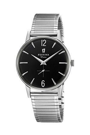 Festina Herr analog kvartsklocka med rostfritt stål armband F20250/4