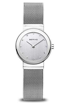 Bering Dam analog kvartsklocka med rostfritt stålrem 10126-000