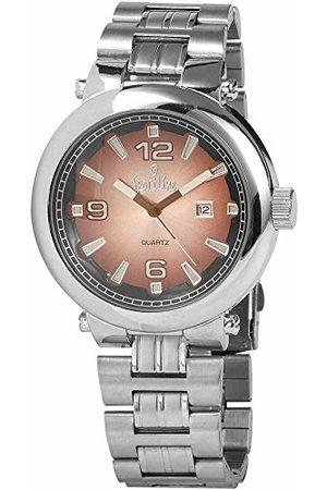 Sportline Herr analog kvartsklocka med olika material armband 28152700004