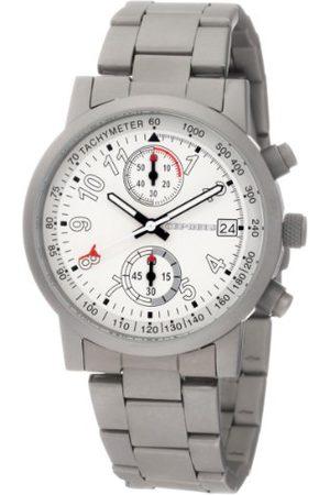 CEPHEUS Herr kronograf titan-Look klocka CP505-181