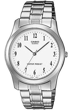 Casio Herrar analog kvarts klocka med rostfritt stål armband MTP-1128PA-7BEF