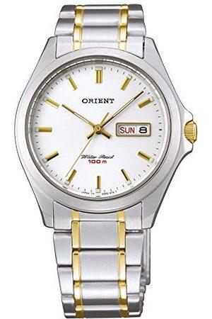 Orient Herrar analog kvarts klocka med rostfritt stål armband FUG0Q002W6