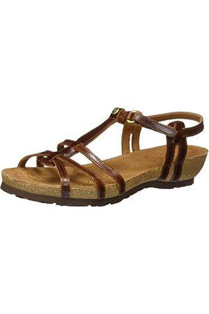 Panama Jack Dam Dori Clay öppna sandaler med kilklack, bark37 EU