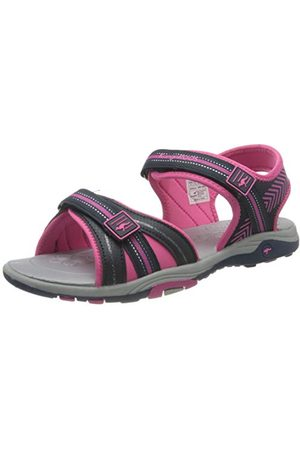 KangaROOS Unisex barn K-lane sneaker, Dark Navy Daisy Pink 4204-40 EU