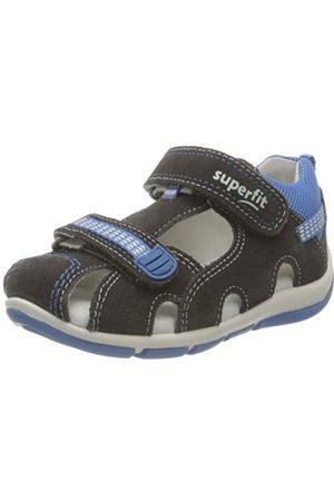 Superfit Baby pojkar Freddy sandaler, Ljusgrå 2500-27 EU