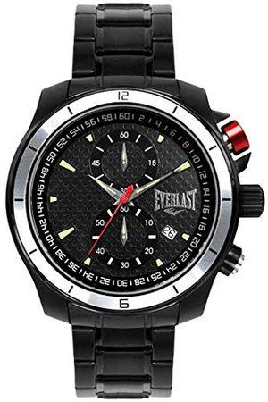 Everlast Unisex vuxna analog kvartsklocka med rostfritt stål armband EVER33-101-103