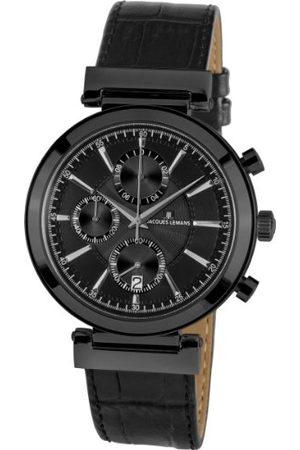 Jacques Lemans Verona 1-1699C kronograf läderremsklocka