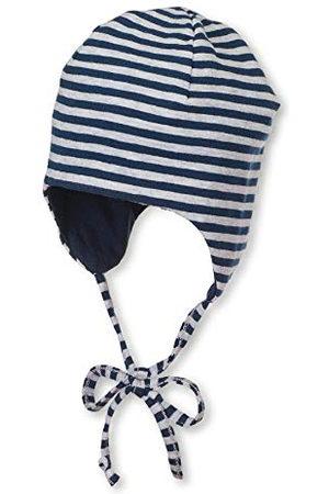 Sterntaler Vändbar keps med slipsband, marinblå