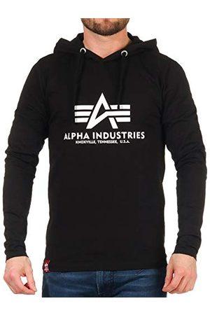 Alpha Industries Herr basic hooded Heavy Ls t-shirt