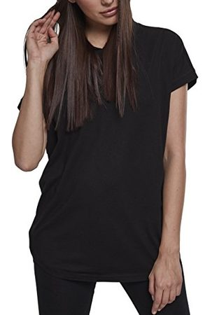Urban classics Dam huvtröja Ladies Sleeveless Jersey hoodie, lätt kortärmad t-shirt med huva