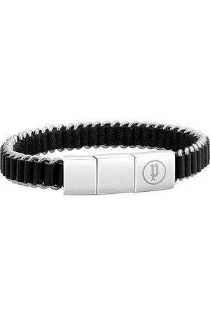 Police Herr-uttalandearmband rostfritt stål PJ26203BLS.01