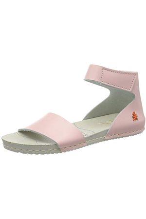 Art Konst barn flicka A276 sandaler med öppen tå, rosros30 EU