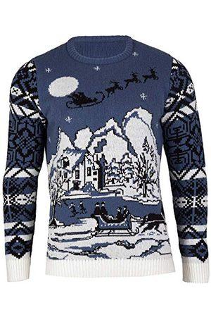 British Christmas Jumpers Brittiska jultröjor herr Wonderland eko-jultröja tröja