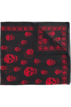 Alexander McQueen Man Sjalar - Dödskallemönstrad scarf