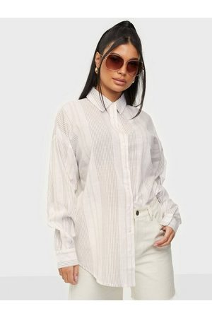 NLY Trend Kvinna Skjortor - Summer Stripe Shirt Skjortor