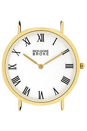 Rich Gone Broke Unisex analog kvartsklocka utan armband GMCASE