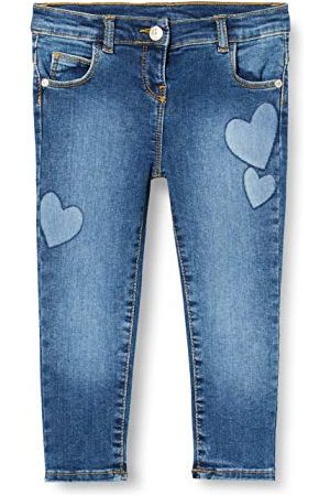 chicco Baby-flicka pantaloni lunghi denim stretch bimba jeans