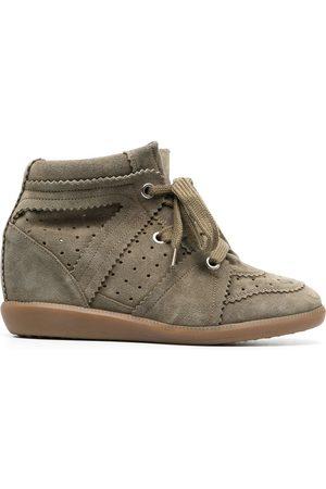 Isabel Marant Kvinna Sneakers - Bobby sneakers med kilklack