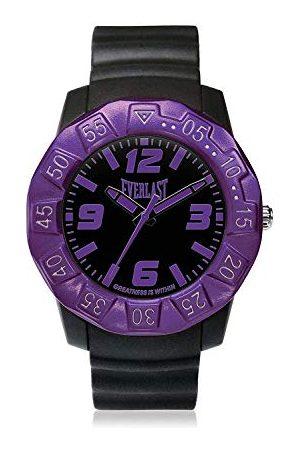 Everlast Unisex vuxna analog kvartsklocka med PU-armband EVER33-218-003