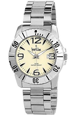 Sportline Herr analog kvartsklocka med olika material armband 281522100006