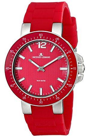 Jacques Lemans Unisex-armbandsur Milano analog silikon 1-1709D