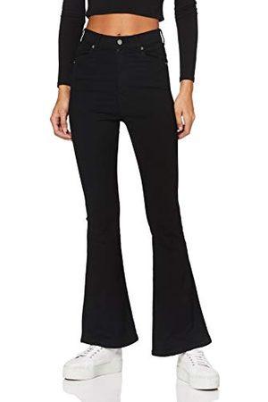Dr Denim Kvinnor Moxy Flare jeans
