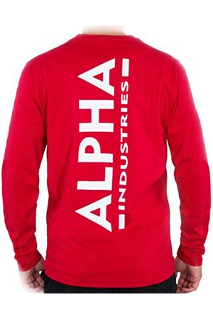 Alpha Industries Herr Back Print Heavy Ls t-shirt