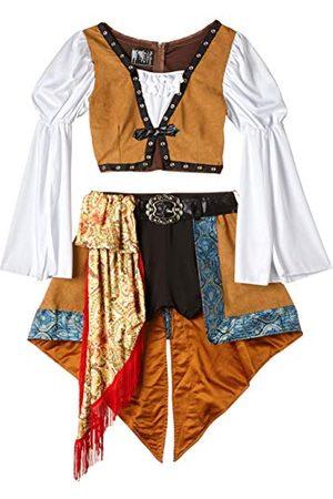 LEG AVENUE Swashbuckling Siren Panamahatt för damer, , Tillverkarens Storlek 6/8 UK/S