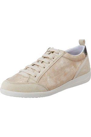 Geox Dam D Myria A Sneaker, sand C5004-36 EU