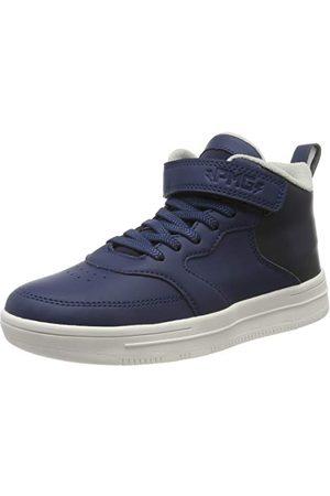 Primigi Herr Pil 44635 hög sneaker, Blue 4463511-39 EU