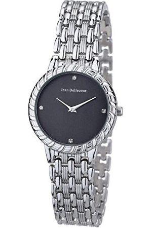 Jean Bellecour Unisex analog kvartsklocka med rostfritt stål armband REDS21-SB